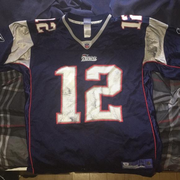 vintage tom brady jersey